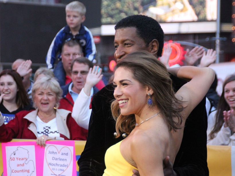 Babyface and partner Allison Holker DWTS journey ends