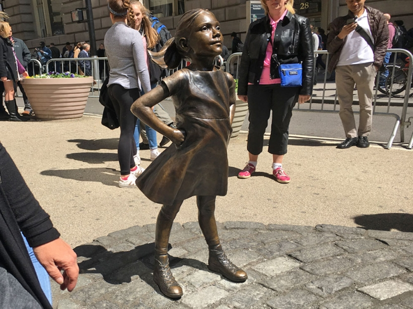 Keep 'Fearless Girl' or is it all Bull