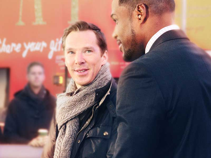 Benedict Cumberbatch promotes his latest movie Marvel's Doctor Strange