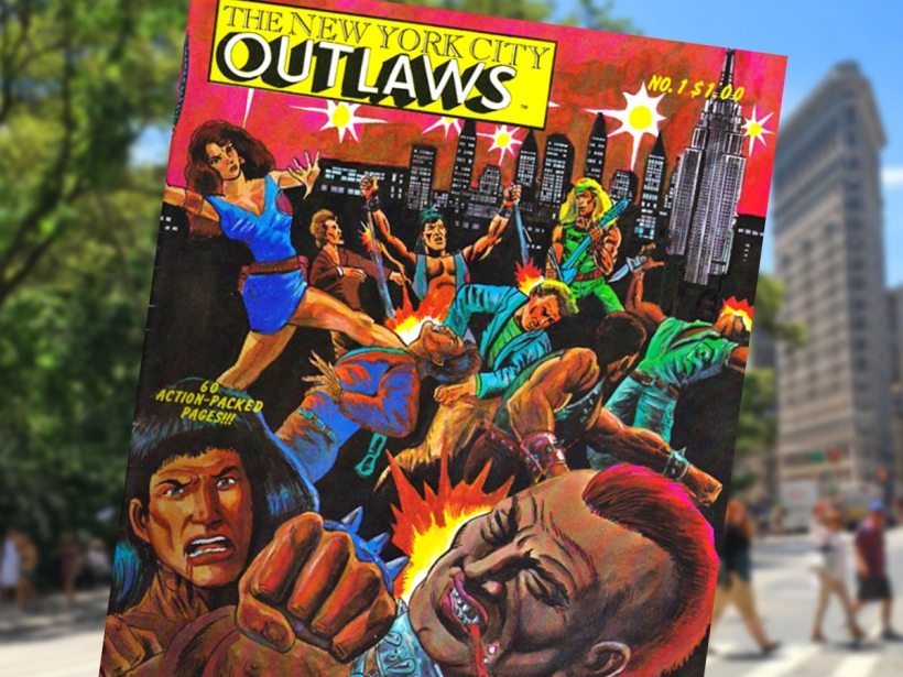 New York City Outlaws comic to become a movie