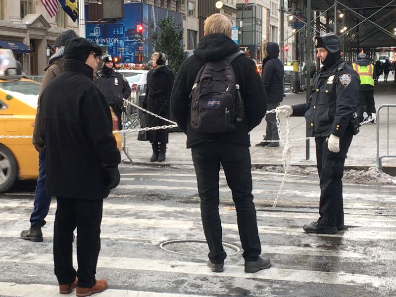 NYPD Trump Tower security is 'Off the Chain'