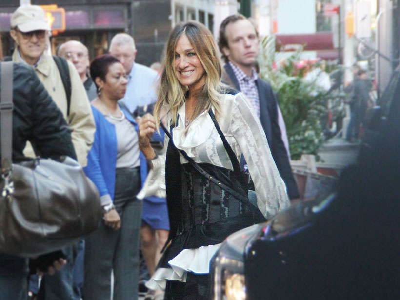 Sarah Jessica Parker stars in new HBO comedy series, Divorce