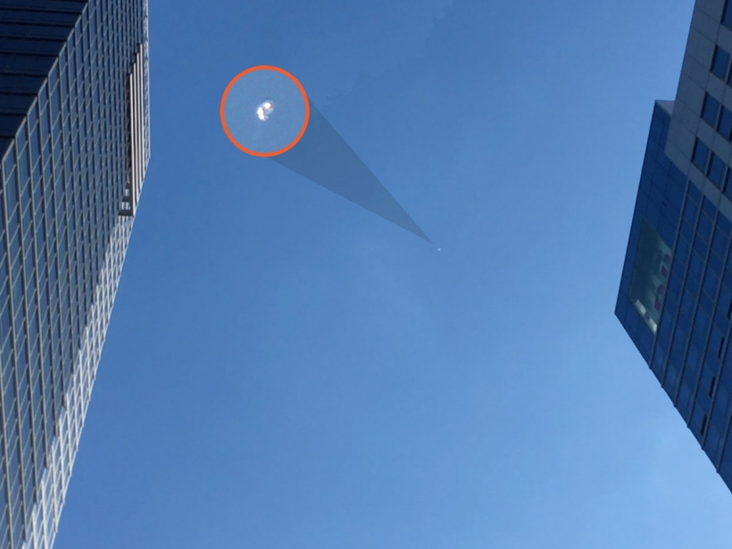 UFO caught on video over Midtown Manhattan
