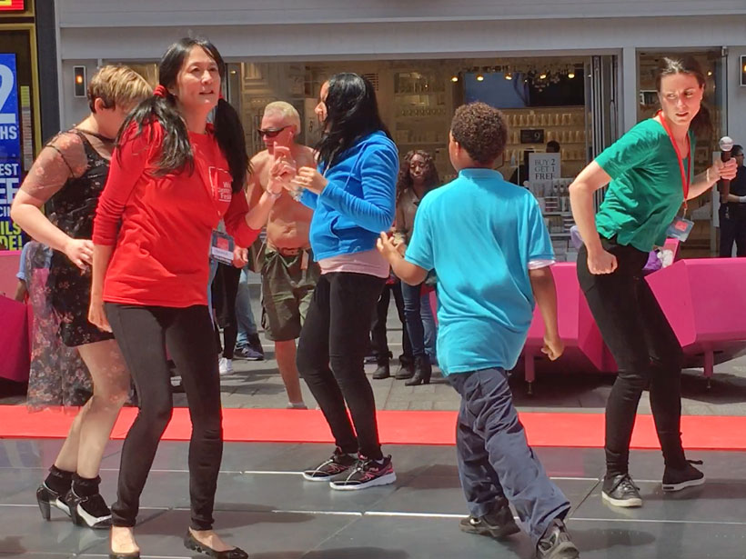World Science Festival Kinetic Energy Dancing